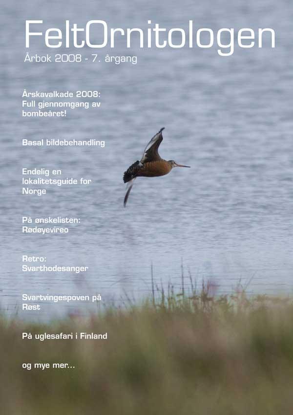 Forside Feltornitologen 2008