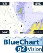 Garmin bluechart  Skjermbilde Garmin GPSmap 276C