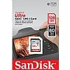 Sandisk Minnekort SDXC Ultra 128GB 80MB/s UHS-I Class10