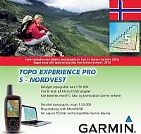 Topo Experience Pro 05 - Nordvest, Topo 1:50 000