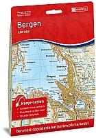 Bergen 1:50 000