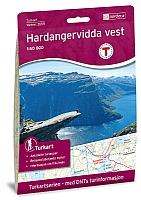 Hardangervidda vest. Odda, Litlos, Hårteigen og Kinsarvik