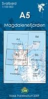 A5 Magdalenefjorden  1:100 000