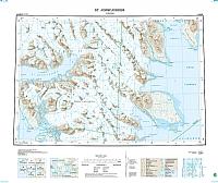 B8 St. Johnsfjorden 1:100 000