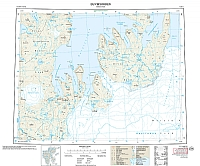 F3 Duvefjorden 1:100 000