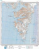 Spitsbergen Søre del 1:500 000