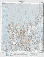 Spitsbergen Nordre del 1:500 000