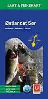 Jakt og Fiskekart 4 - Østlandet Sør