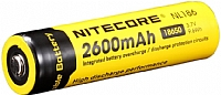 Nitecore batteri 3,7V 2600mAh LI-ION