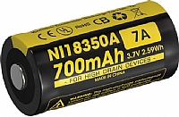 Nitecore batteri IMR 700mA 3,7V (CR123)