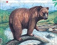 Puslespill - Bjørn