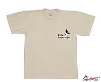 T-skjorte Lista Fuglestasjon sandfarget XXL