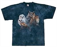 T-Skjorte Ugler str. XXL