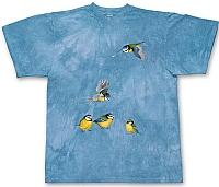 T-Skjorte Blåmeis str. barn 8 år