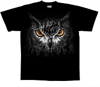 T-Skjorte Uglens øyne str. S