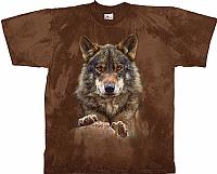 T-Skjorte Liggende Ulv str. XL