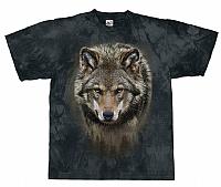 T-Skjorte Ensom ulv str. M