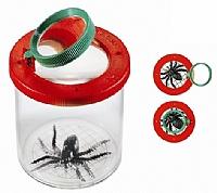 Insektsboks med forstørrelsesglass