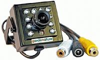 Ekstra kamera for fuglekasse