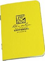 Allvær Mini-notatbok - Heftet (371FX-M) Gul