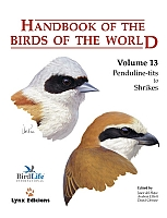 Handbook of the Birds of the World, vol. 13.