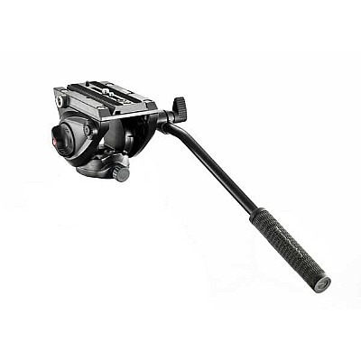 Manfrotto Stativkit 055 Carbon 4-section Tripod m/videohode